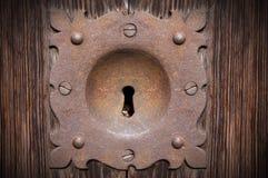 Vecchio e Rusty Keyhole - Verona Italy fotografia stock libera da diritti