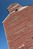 Vecchio elevatore di granulo della prateria Immagine Stock Libera da Diritti