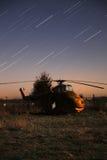 Vecchio elicottero di RAF Fotografia Stock