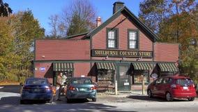 Vecchio emporio di paese del Vermont Fotografie Stock Libere da Diritti