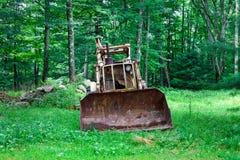 Vecchio escavatore Fotografie Stock Libere da Diritti