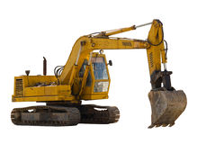 Vecchio escavatore Immagini Stock Libere da Diritti