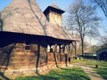 Vecchio esterno della casa di campagna Immagini Stock Libere da Diritti