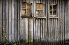 Vecchio fabbricato agricolo del legname immagine stock libera da diritti
