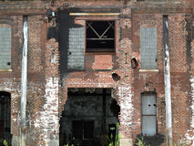 Vecchio fabbricato industriale abbandonato Fotografia Stock Libera da Diritti