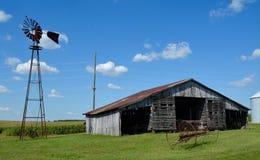 Vecchio farmstead Fotografie Stock Libere da Diritti