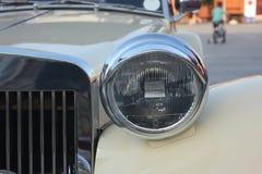 Vecchio faro dell'automobile Immagine Stock Libera da Diritti