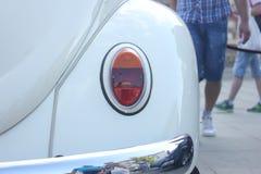 Vecchio faro dell'automobile Fotografia Stock