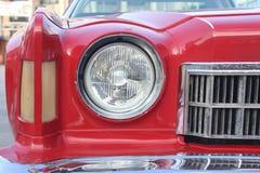 Vecchio faro dell'automobile Fotografia Stock Libera da Diritti