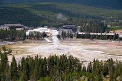 Vecchio fedele, Yellowstone fotografia stock