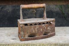 Vecchio ferro arrugginito Fotografie Stock
