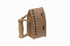 Vecchio ferro di carbone di legna. Immagine Stock Libera da Diritti
