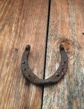 Vecchio ferro di cavallo fotografie stock libere da diritti