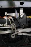 Vecchio ferro e dettaglio d'acciaio della locomotiva a vapore Immagine Stock Libera da Diritti