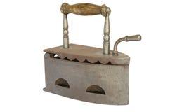 Vecchio ferro piano isolato Fotografie Stock