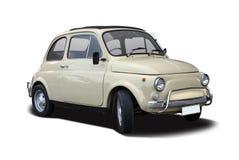 Vecchio Fiat 500 Fotografia Stock