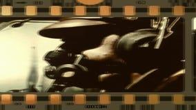 Vecchio film dalla seconda guerra mondiale stock footage