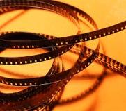 Vecchio film di 35mm Fotografie Stock