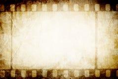 Vecchio filmstrip. Fotografia Stock