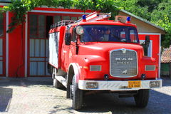 Vecchio Firetruck Fotografia Stock Libera da Diritti
