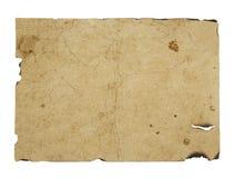 Vecchio foglio di carta Immagine Stock Libera da Diritti