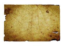 Vecchio foglio di carta Fotografia Stock Libera da Diritti
