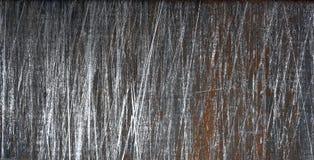 Vecchio fondo arrugginito della lamiera sottile, struttura Fotografie Stock