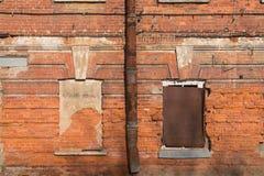 Vecchio fondo arrugginito della parete Fotografia Stock Libera da Diritti