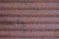 Vecchio fondo arrugginito di lerciume dello zinco, struttura Fotografia Stock
