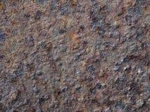 Vecchio fondo arrugginito di struttura del ferro Fotografia Stock