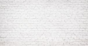 Vecchio fondo bianco del muro di mattoni, struttura d'annata di brickw leggero immagine stock libera da diritti