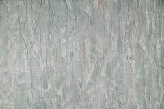 Vecchio fondo d'annata concreto incrinato della parete, vecchia parete, verde chiaro Fotografia Stock Libera da Diritti