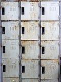 Vecchio fondo degli armadi Immagine Stock Libera da Diritti