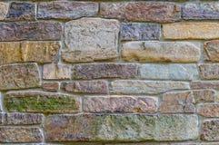 Vecchio fondo del lavoro in pietra Fotografie Stock