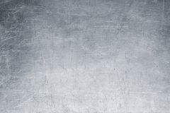 Vecchio fondo del metallo, struttura luminosa del ferro, spazzola indossata o sandpap Fotografie Stock Libere da Diritti
