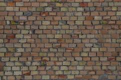 Vecchio fondo del muro di mattoni Fotografie Stock Libere da Diritti