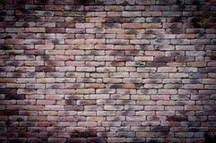 Vecchio fondo del muro di mattoni di lerciume Fotografia Stock Libera da Diritti