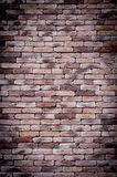 Vecchio fondo del muro di mattoni di lerciume fotografie stock