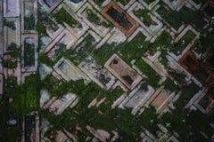 Vecchio fondo del pavimento dei mattoni Fotografie Stock