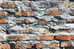Vecchio fondo del primo piano di struttura del muro di mattoni Immagine Stock Libera da Diritti