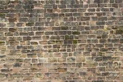 Vecchio fondo della parete del castello/parete di pietra Fotografia Stock Libera da Diritti