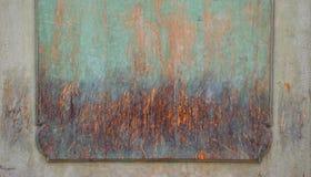 Vecchio fondo della parete di colore di strutture Fotografie Stock Libere da Diritti