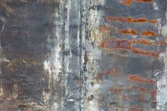 Vecchio fondo della ruggine del ferro del metallo Fotografia Stock Libera da Diritti