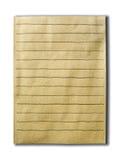 Vecchio fondo di carta, lenza a mano disegnata Immagine Stock