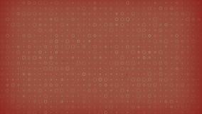 Vecchio fondo di carta variopinto con l'animazione dei segni dei cerchi rappresentazione 3d 4K, ultra risoluzione di HD illustrazione di stock