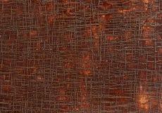 Vecchio fondo di cuoio marrone di struttura di lerciume, macro, fuoco selettivo fotografie stock libere da diritti