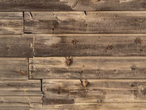 Vecchio fondo di legno Fotografia Stock Libera da Diritti