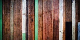 Vecchio fondo di legno Fotografia Stock