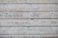 Vecchio fondo di legno bianco Fotografia Stock