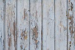 Vecchio fondo di legno bianco Fotografia Stock Libera da Diritti